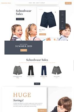 Schoolwear Sales